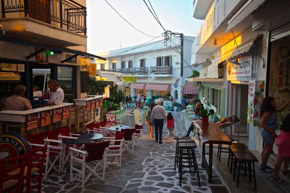 Old Town ,  Naxos