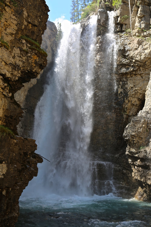 Johnston Canyon, Big Falls
