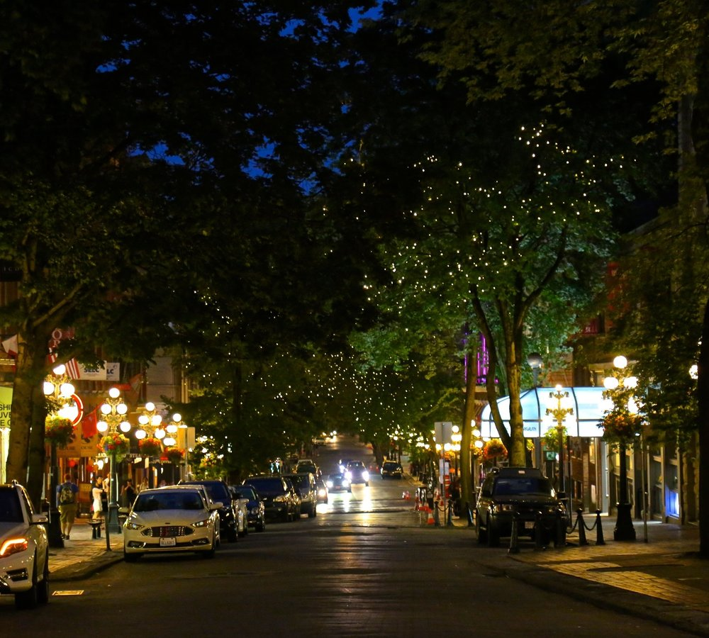 Gastown at Night