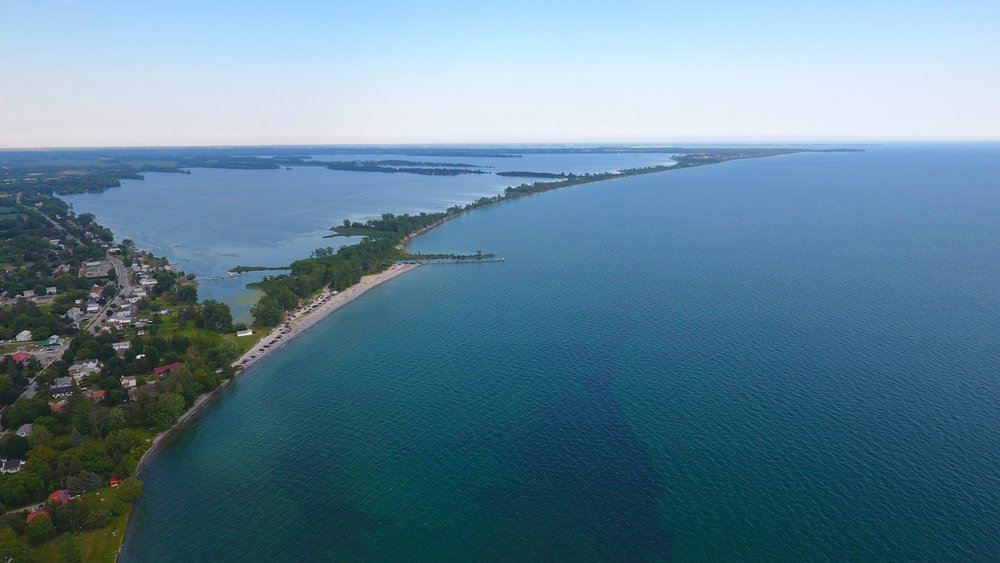 ~Drone shot over Prince Edward County in Ontario. Can't wait to get some beautiful shots of the ocean during my winter holiday!~