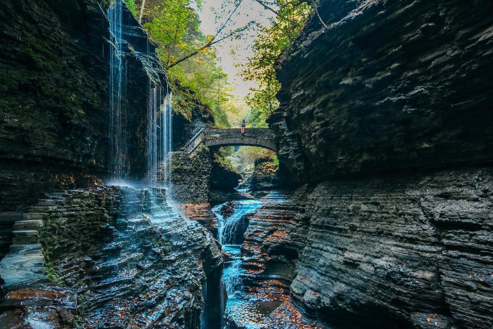Gorge Trail Waterfall