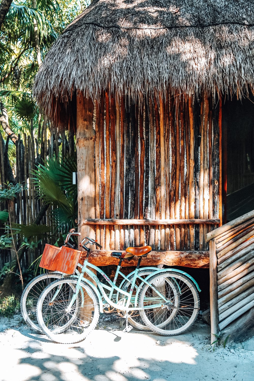 Our adorable AirBnB in Tulum, Mexico!