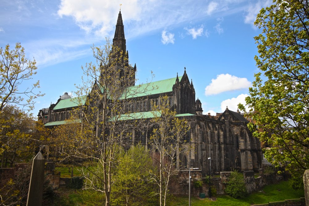 St. Patrick's Cathedral and Necropolis Cemetery    Castle St, Glasgow G4 0UZ, UK