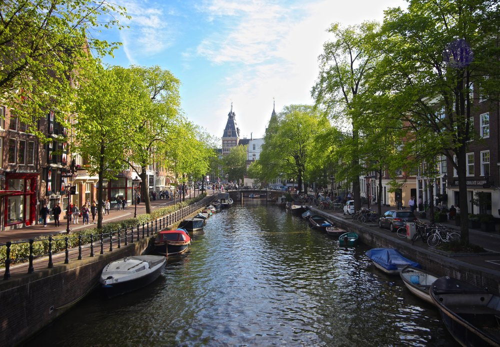 Amsterdam Canals,   Amsterdam, Netherlands