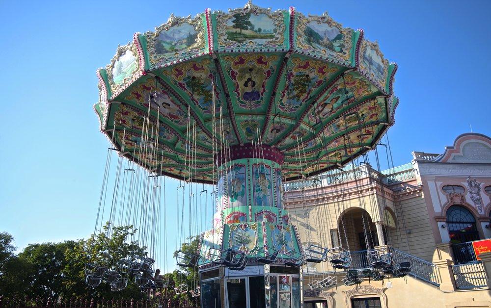 Prater Amusement Park  1020 Vienna, Austria