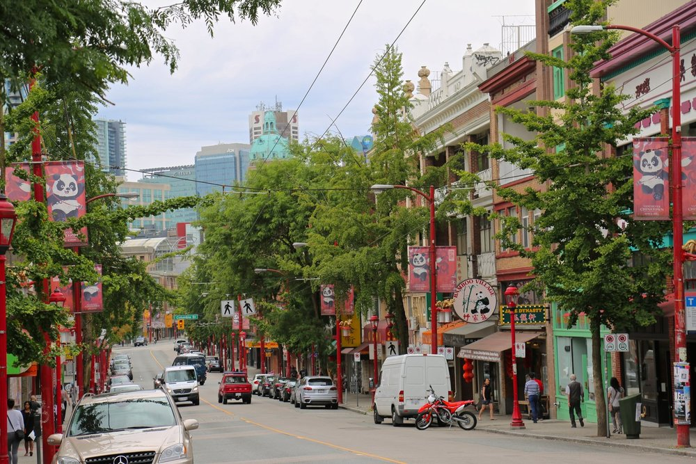 Chinatown E Pender St.