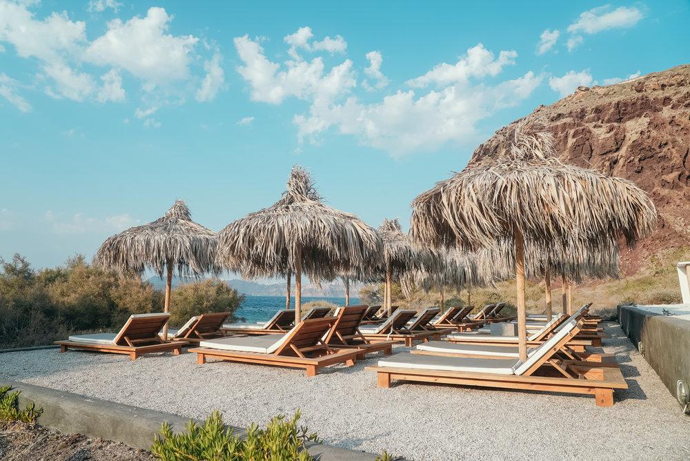 The Beach - Bar Restaurant with Caldera View