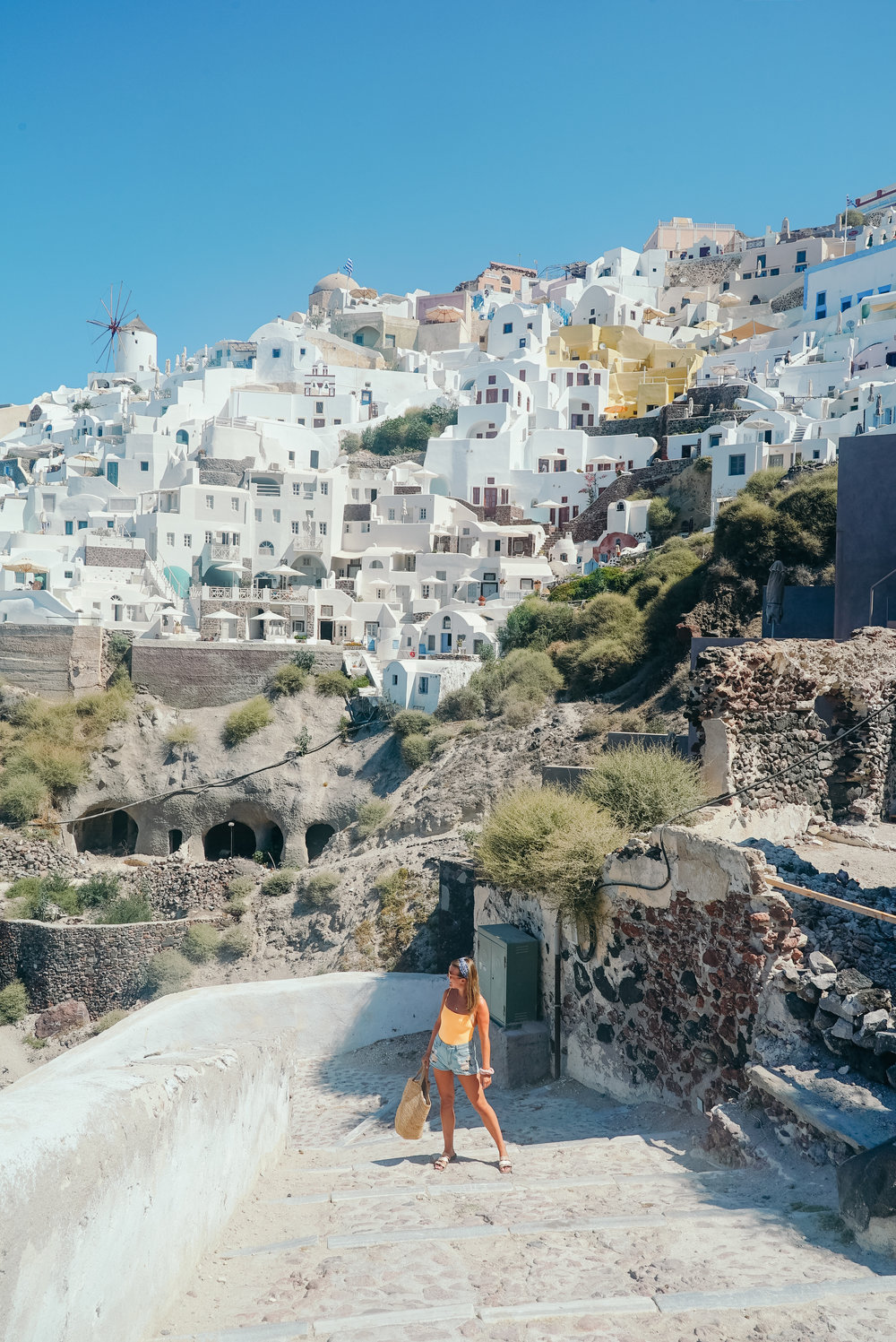 1000 Steps from Oia down to Amoudi Bay