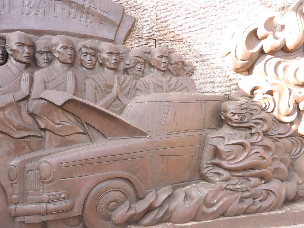Burning monk monument, Ho Chi Minh City.
