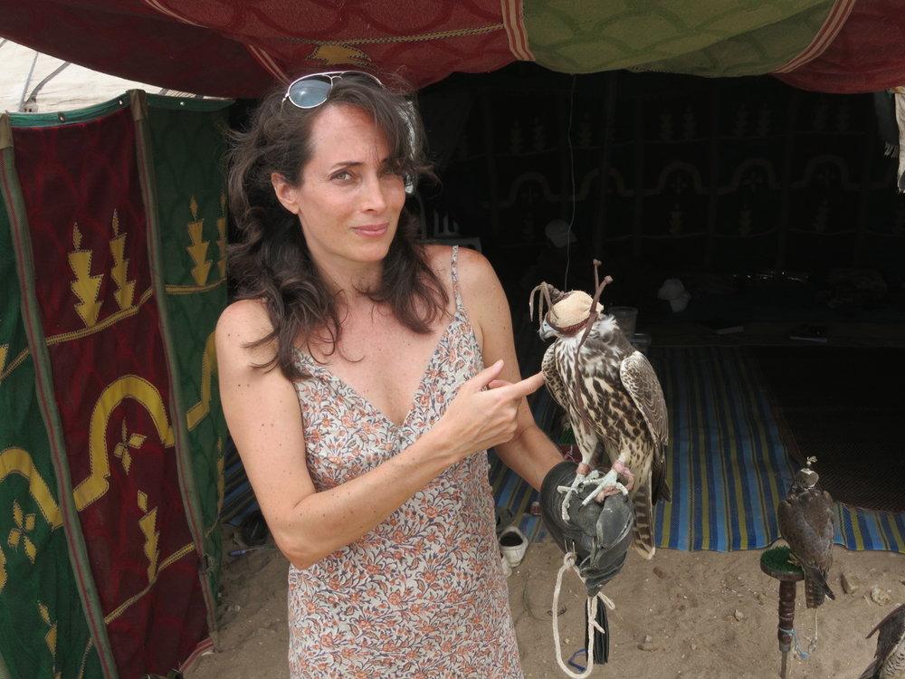 phoebe-eaton-with-falcon .jpg