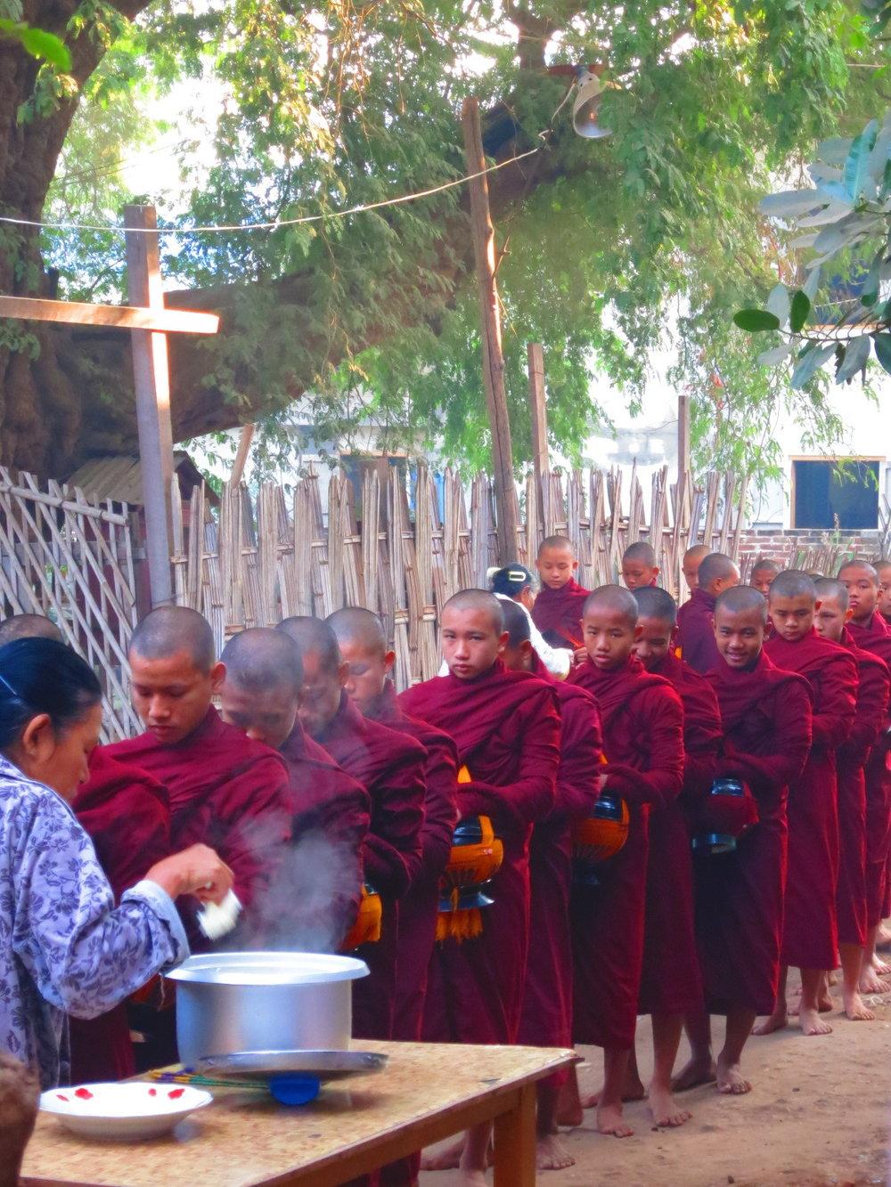 Morning, Nyaung-u, Myanmar.