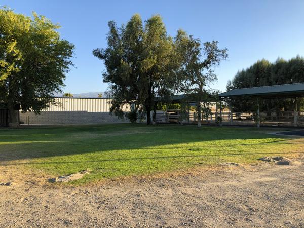 Outdoor training area