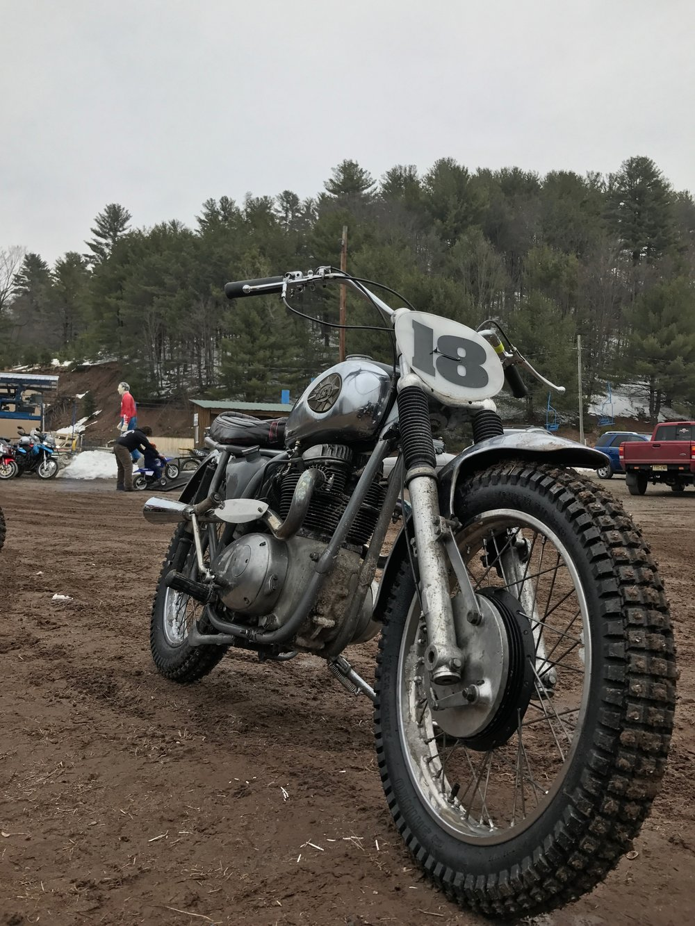 """Took the most expensive bike we have in the garage and rode it up a mountain. At one point, this was a """"show bike"""""""