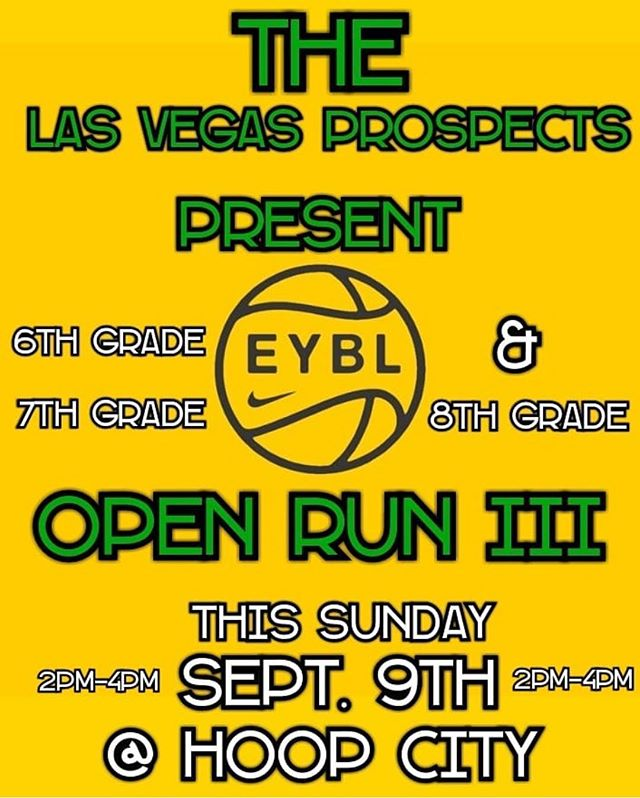We are ALL set and Ready to film @LVProspects Middle School Open  Run Session III tomorrow at Hoop City. . . 🎥🏀 . .  All 6th, 7th & 8 grade hoopers, come on out and showcase your skills. . . . #Media #LasVegasProspects #EYBL  @NikeEYB @WorkOrDontEat