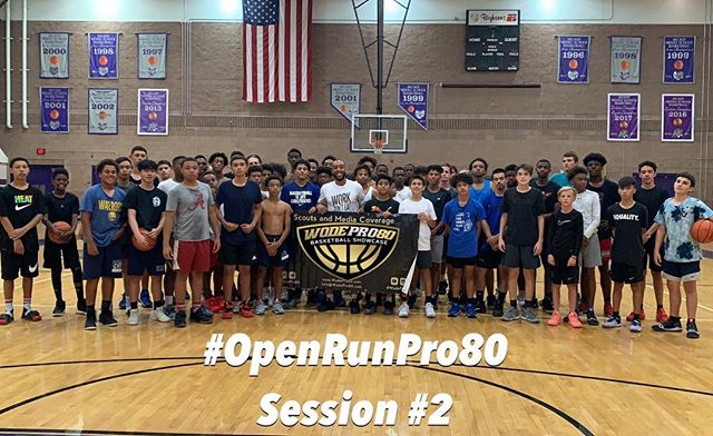 #OpenRunPro80 | @wodepro80 . . Video 🎥🏀 highlights of top performers coming soon. Sign-up for @WodePro80 showcase by visiting WodePro80.com
