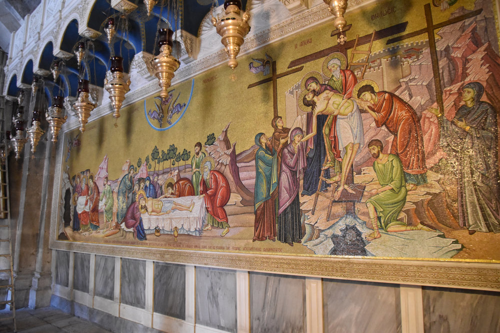 Mosaic of Passion of the Christ