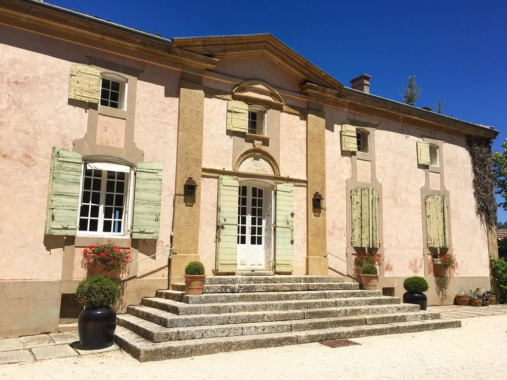 private residence at Chateau la Coste