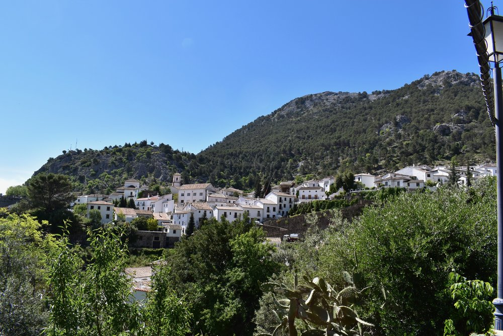 The hilltop town of Grazalema