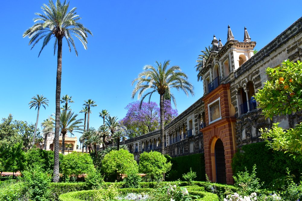 Real Alcazar in Sevilla