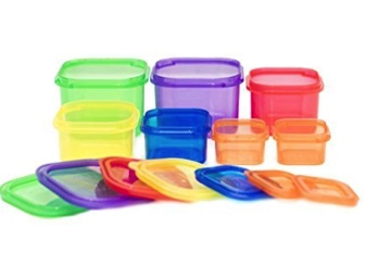 Single set of containers from UK Amazon store -