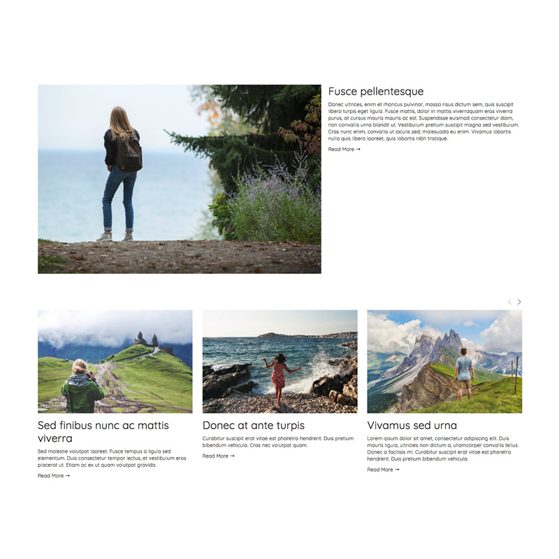 Here's one way how you can use Squarespace's summary block to create a unique layout
