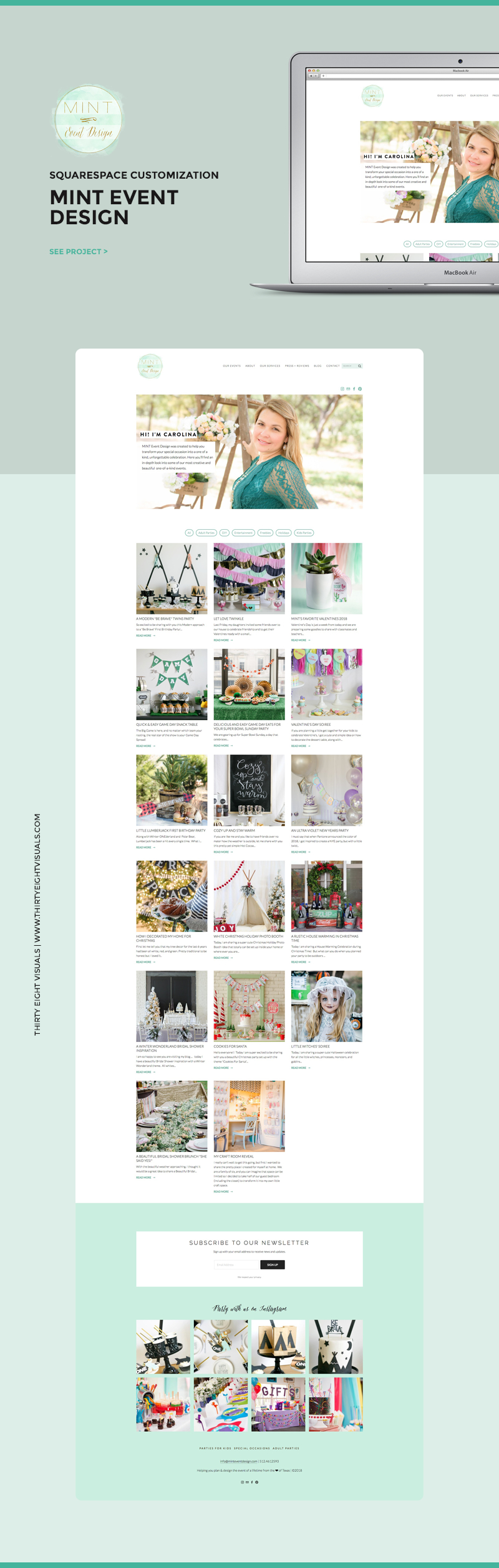 Mint Event Design Squarespace customization.jpg