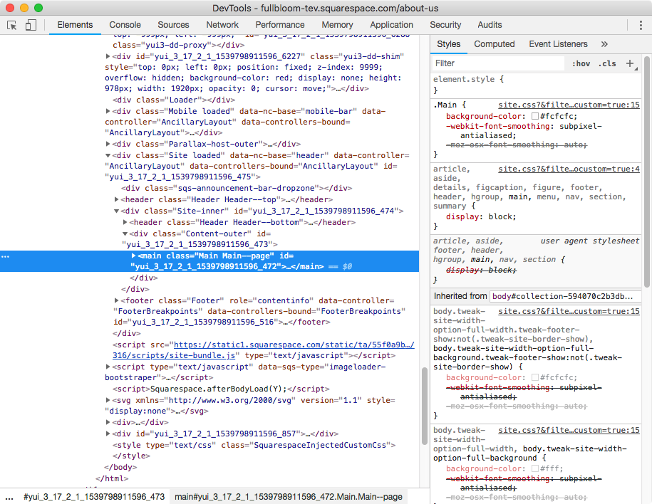 2. Target content area of a regular page in Squarespace.png