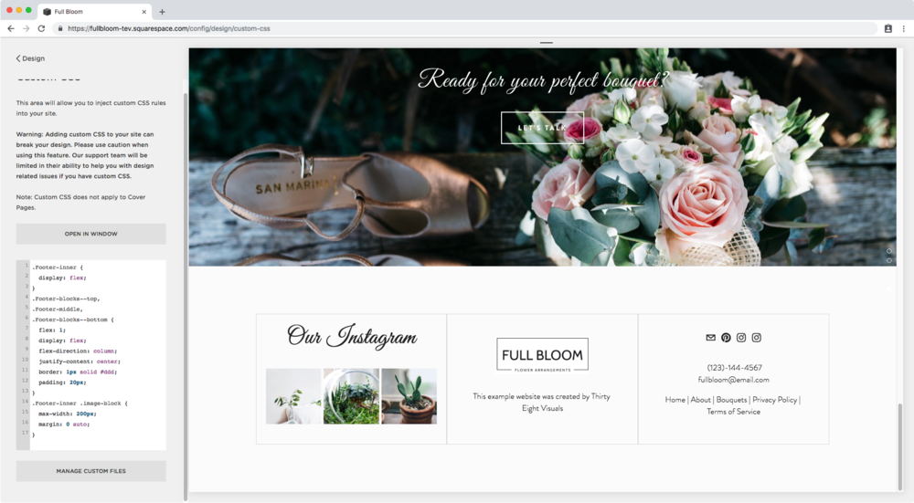 17. Centering image in footer Squarespace.png