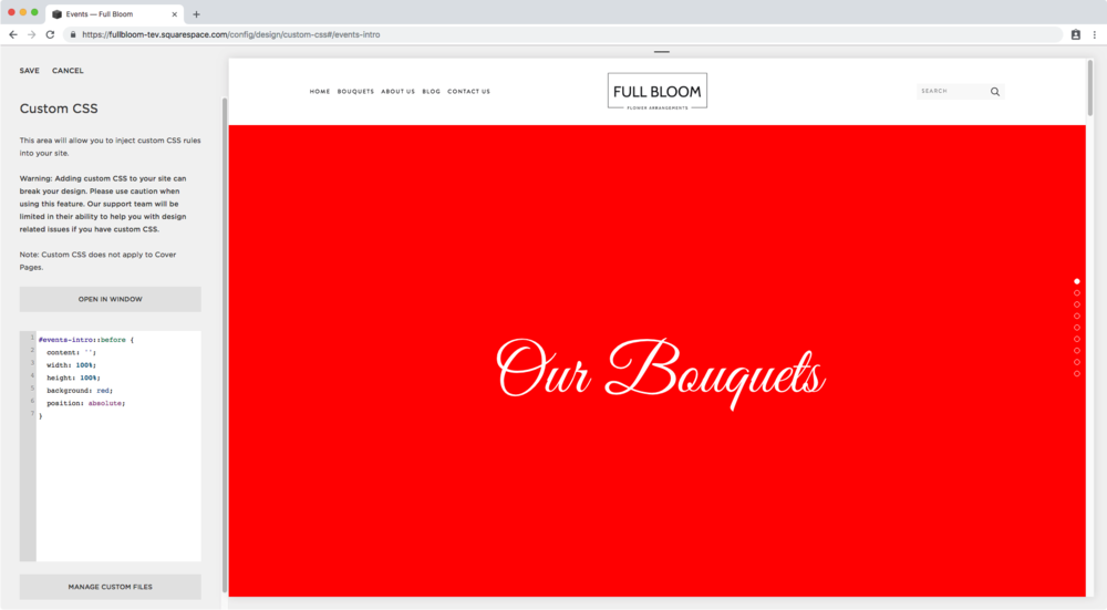 6. Creating a color overlay over one banner image in Brine.png