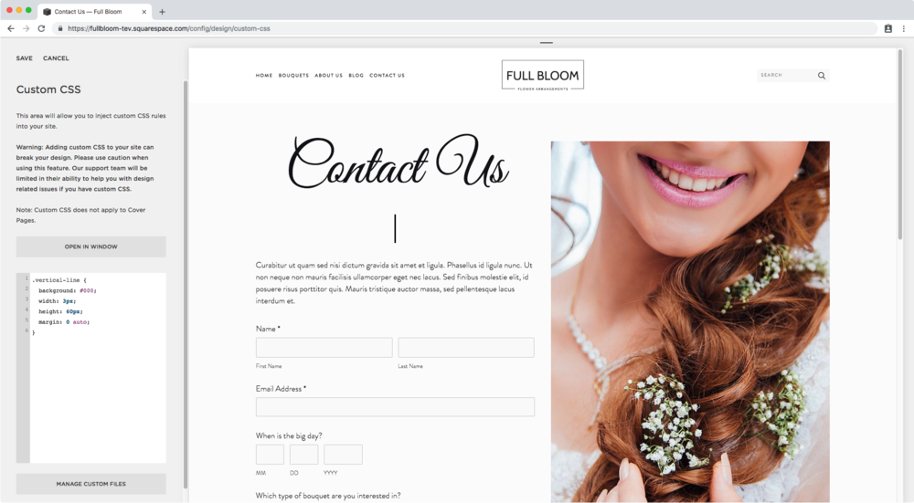 5. Centering the vertical line in Squarespace.png