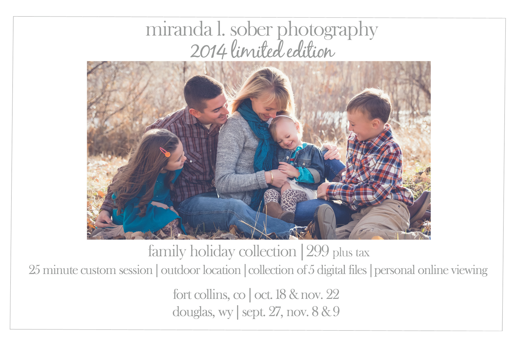 family-holiday-sessions