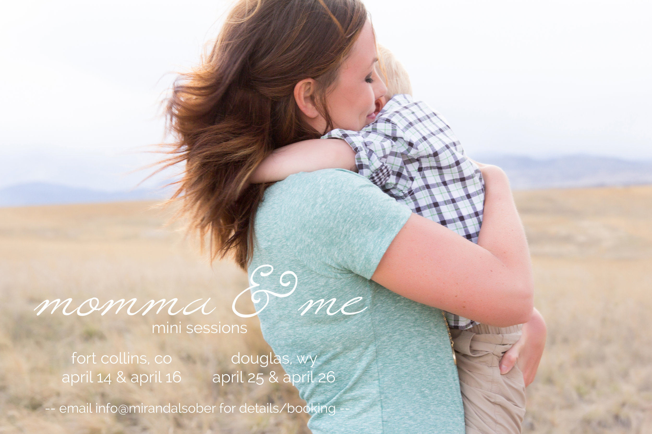 momma and me mini sessions, Miranda L. Sober Photography, Fort Collins photographer