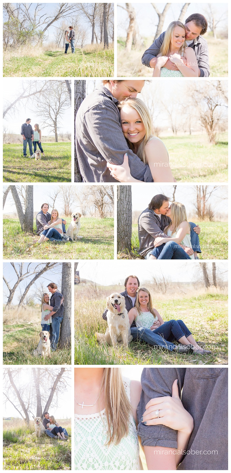engagement photography, Miranda L. Sober Photography, Fort Collins photographer
