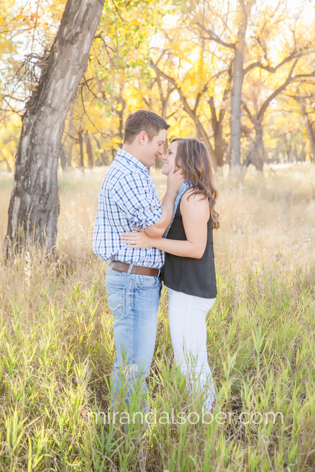 fort collins co engagement photographer, Miranda L. Sober Photography