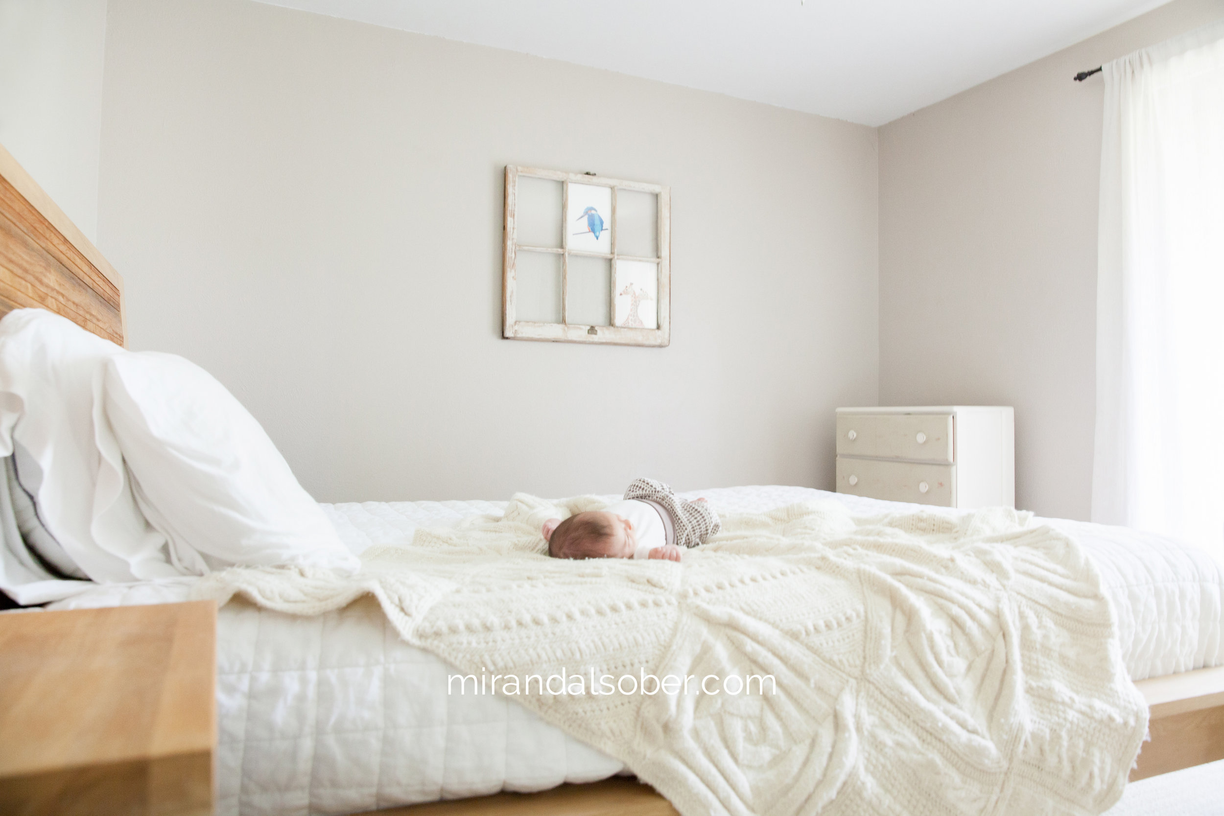 Boulder newborn photographer, lifestyle baby photographer Miranda L. Sober Photography