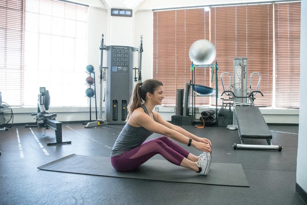 hamstring tightness. sf personal trainer