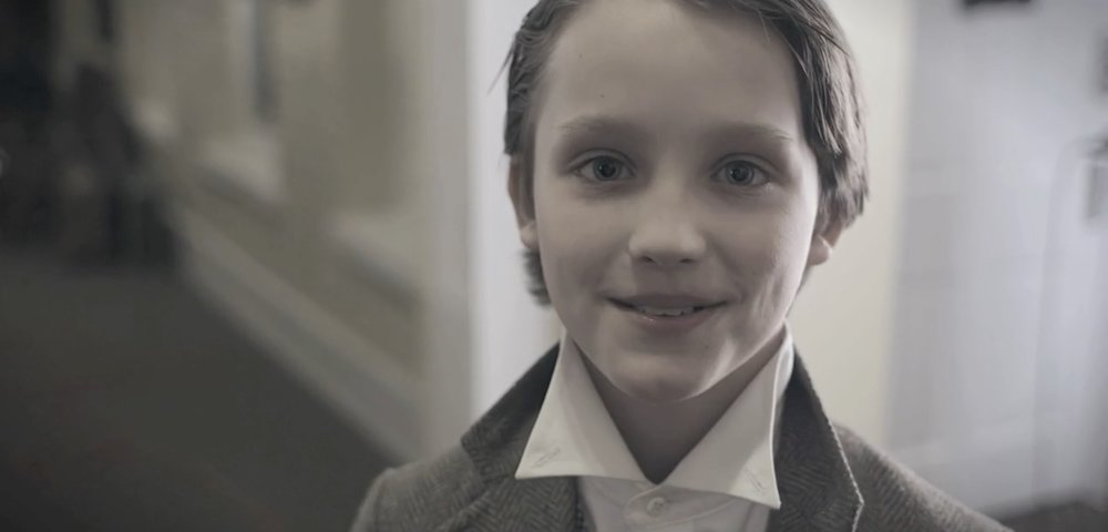 A young actor in Sam Thomas's  Finch's Landing , the 2016 Open Division winner.