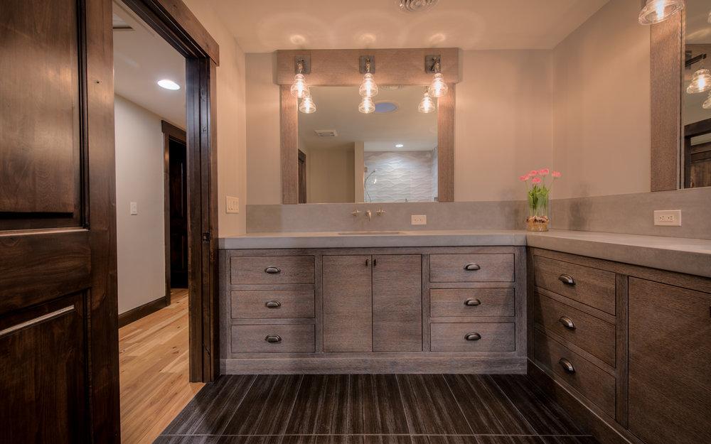 bathrooms greyrock concrete design