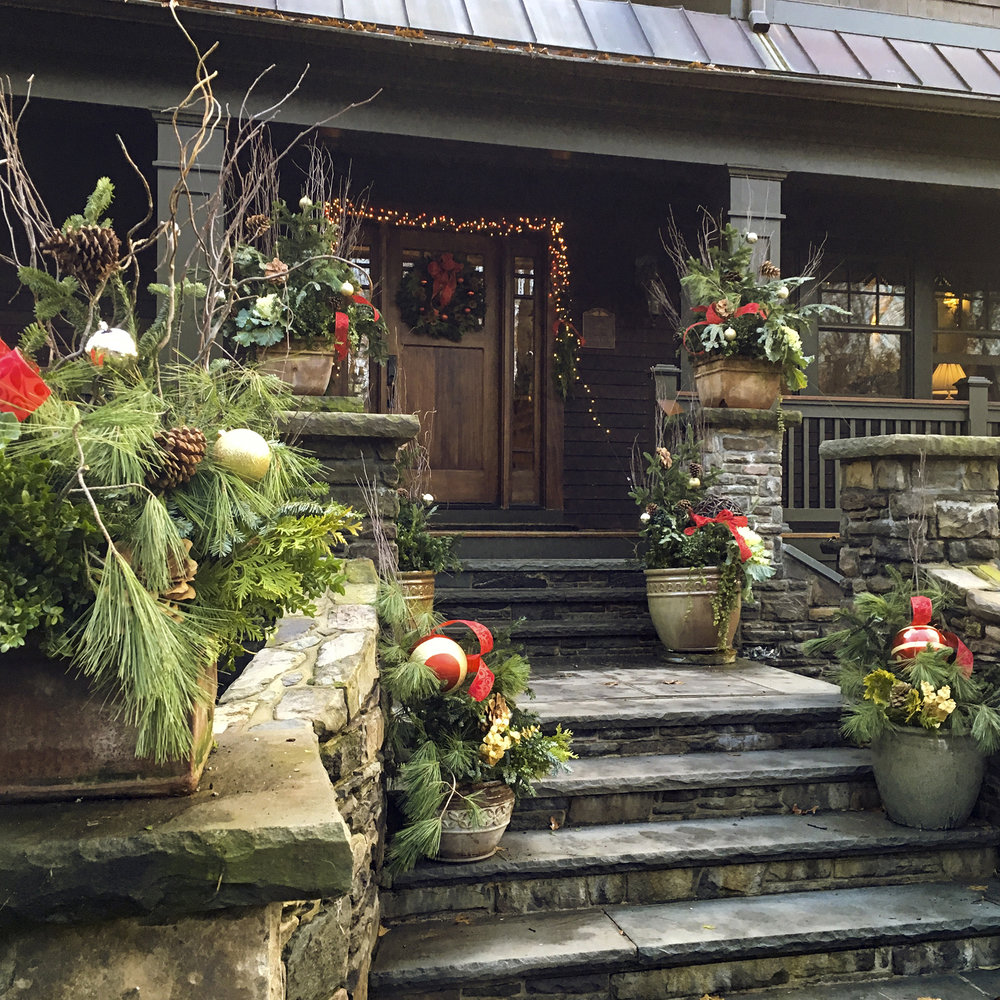 zimmer gardens hudson valley ny property holiday styling real estate