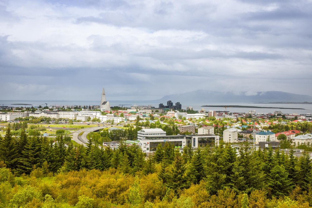 View of Reykjavik from the Perlan