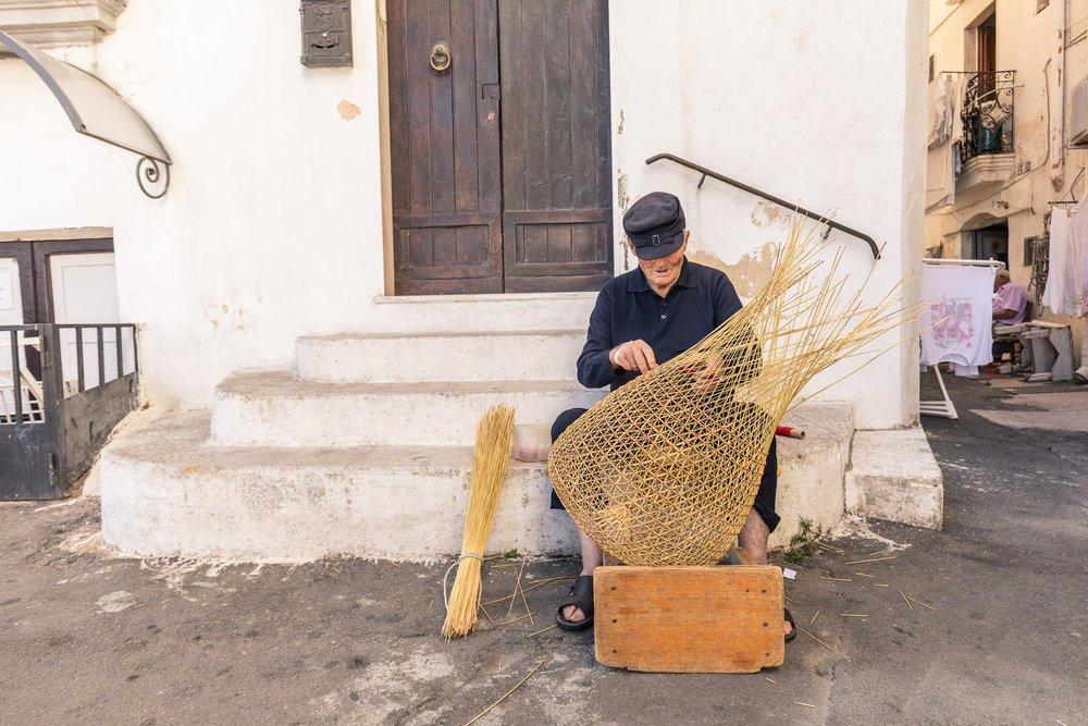 Basketmaker in Gallipoli