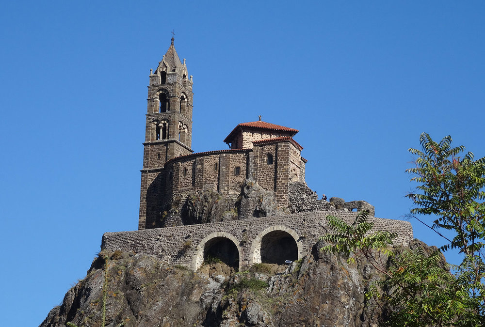 Chapelle Saint Michel d'Aiguilhe in Le Puy-en-Velay. Photo by Kate Barrett