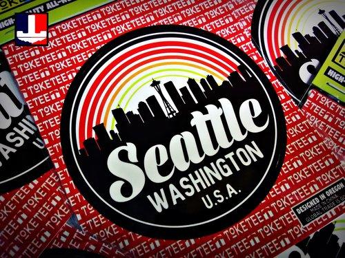 Seattle Sticker  c1af48b9e5f4