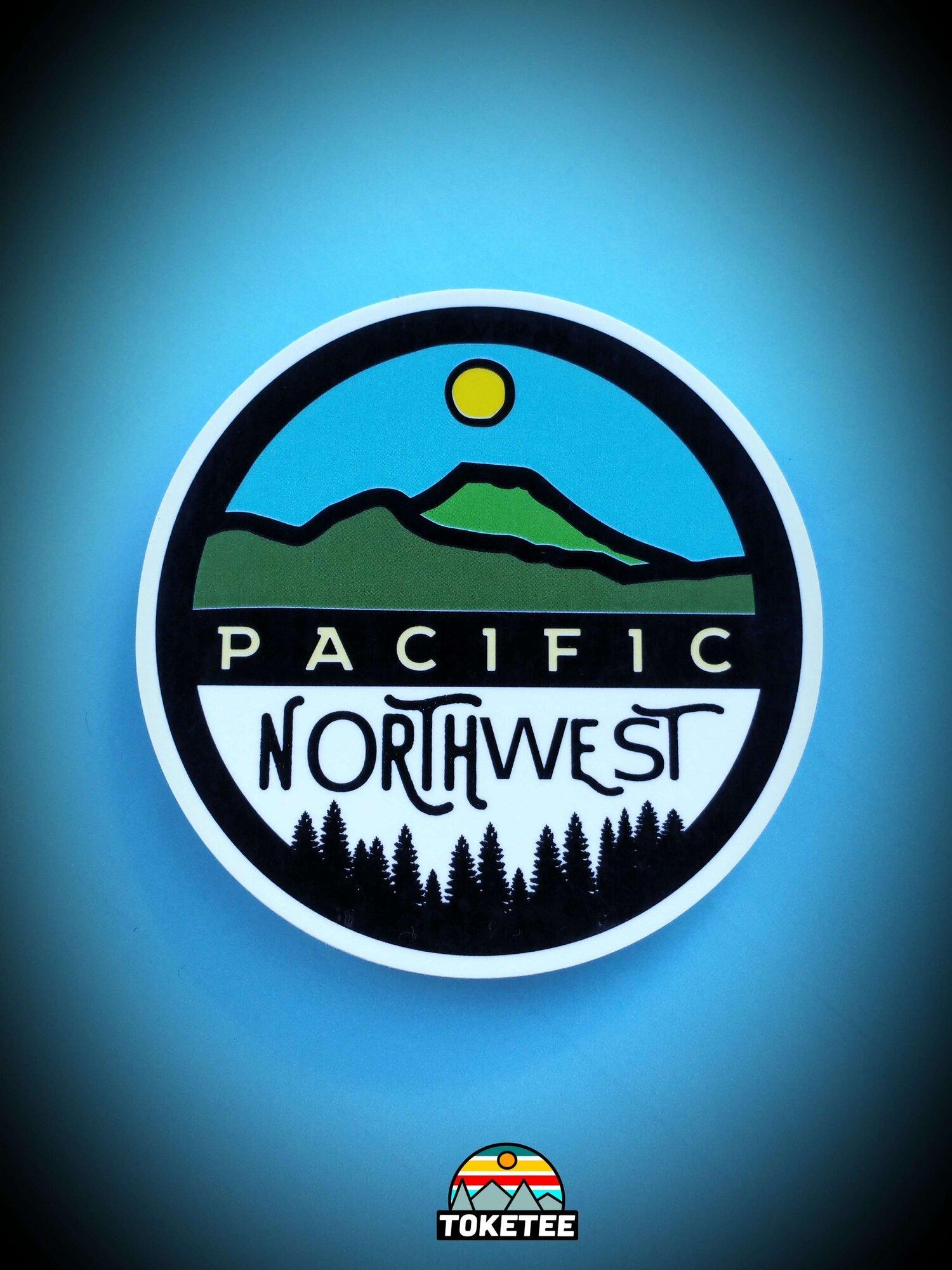 Oregon Sticker Mini MixFREE SHIPPINGPacific Northwest StickerCar Decal