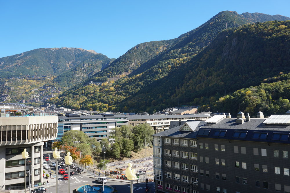 On The Way Out Of Andorra I Asked Bus Driver To Stop At Border So Could Get A Passport Stamp Which Is Definitely Thing You Can Do