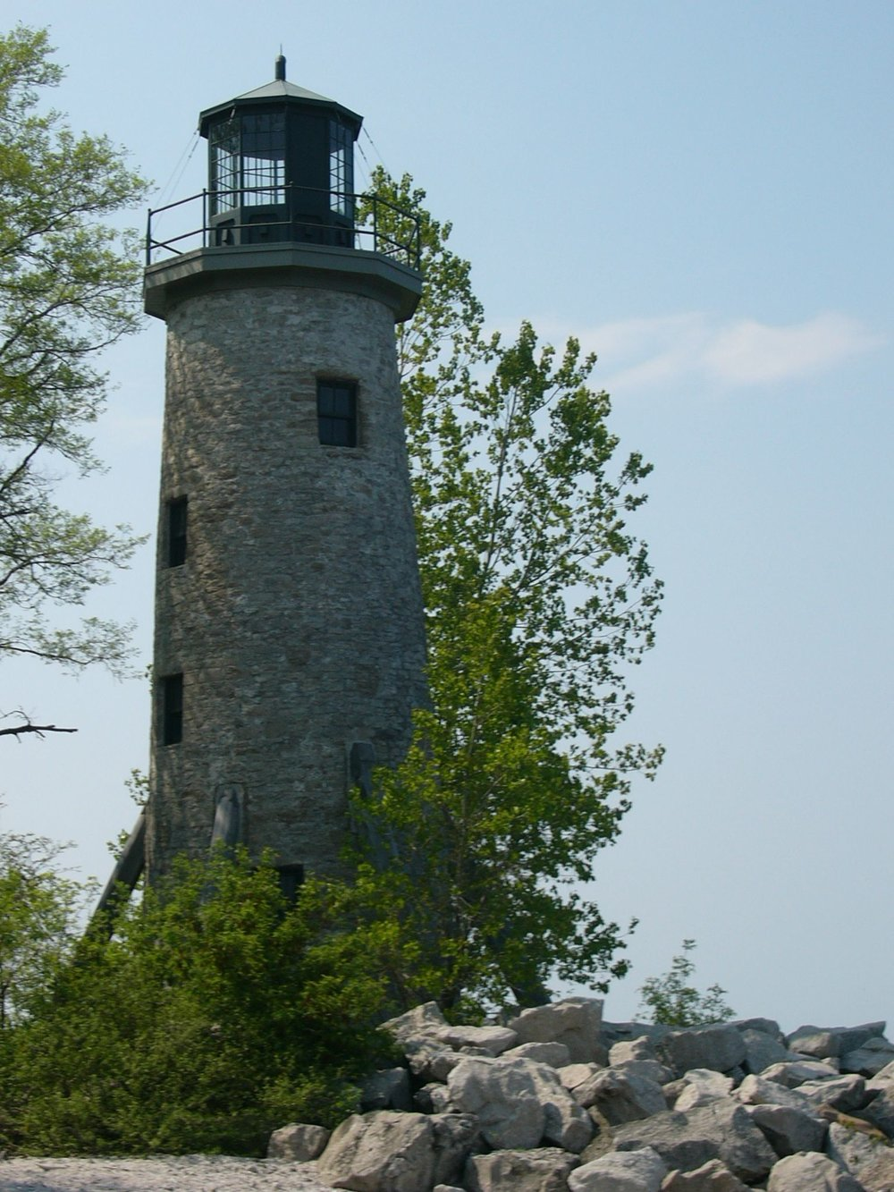 Lighthouse from land