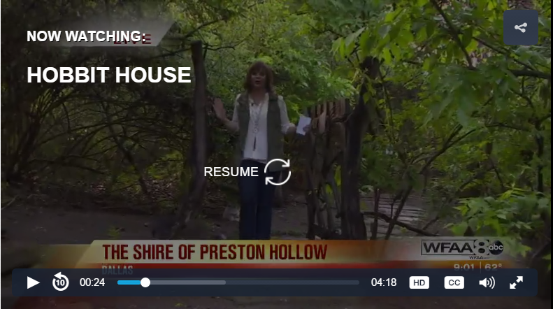 Good Morning Texas previews the Hobbit House