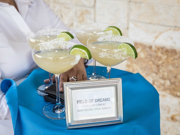 Guests sipped on Field of Dreams margaritas. Photo by Thomas Garza Photography