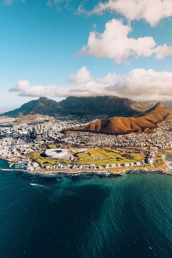 Cape Town, South Africa {Image borrowed from Pinterest}