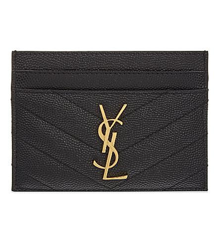 2. YSL Card Holder {$250} -